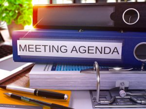 Creating Meeting Agendas & Announcements